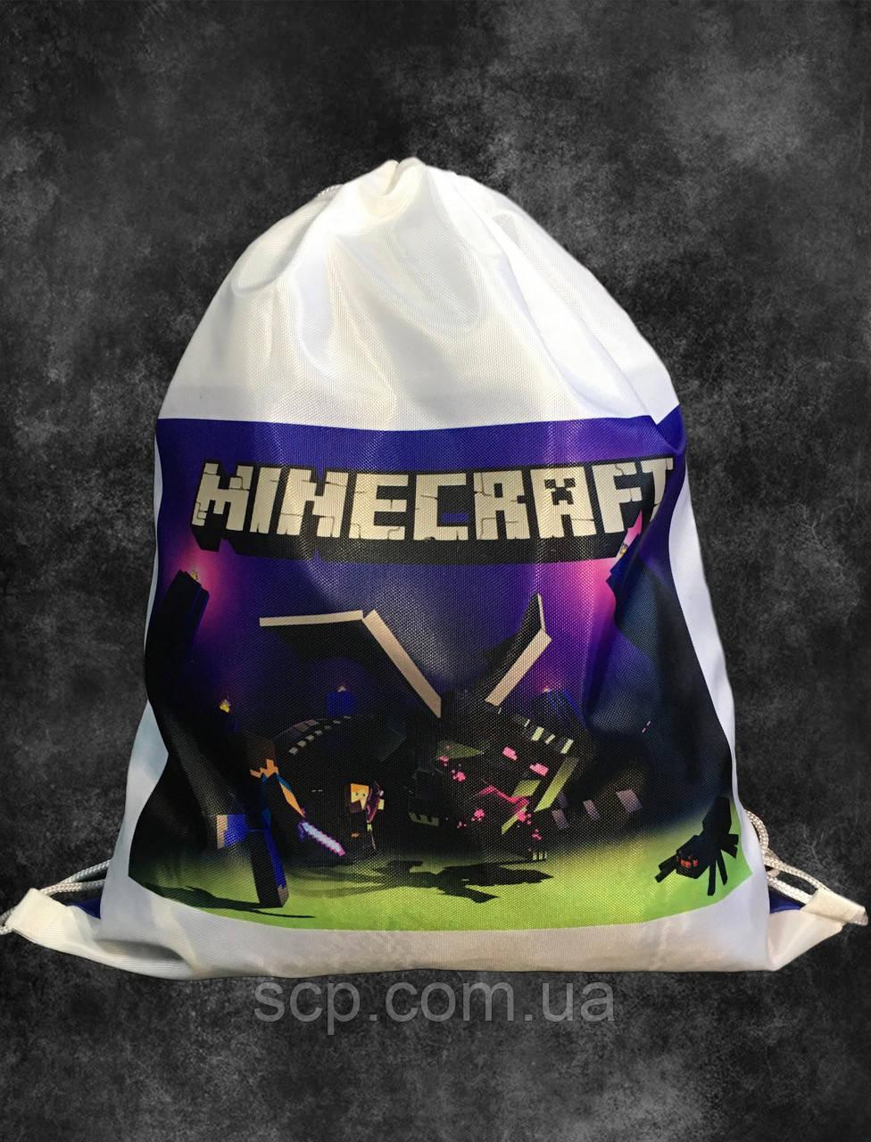 Мешок-рюкзак Minecraft (Майнкрафт)