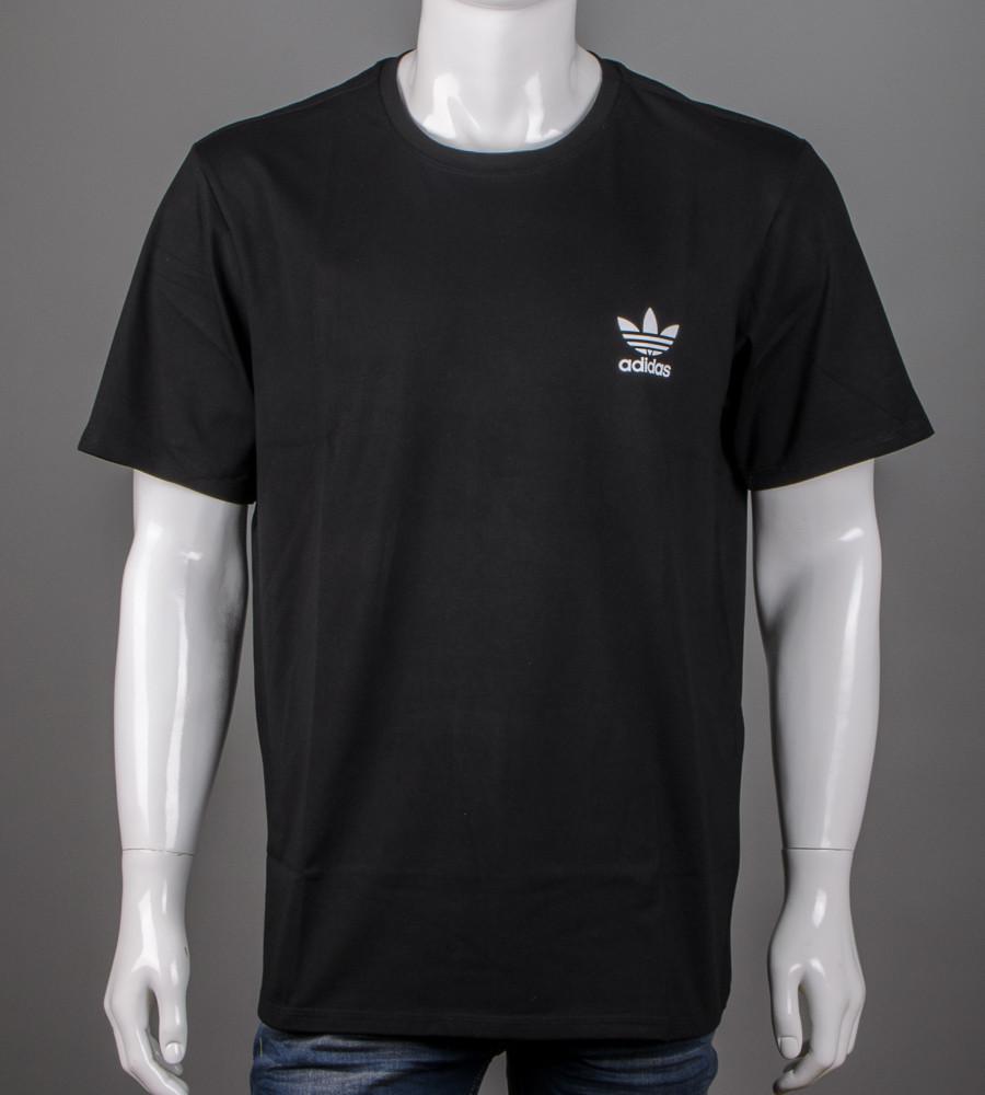Футболка супер-батал Adidas(2111сб), Черный