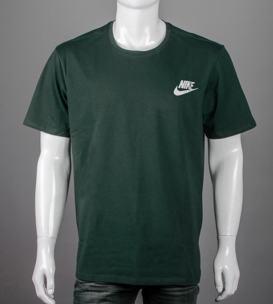 Футболка супер-батал NIKE(2109сб), Т.Зеленый
