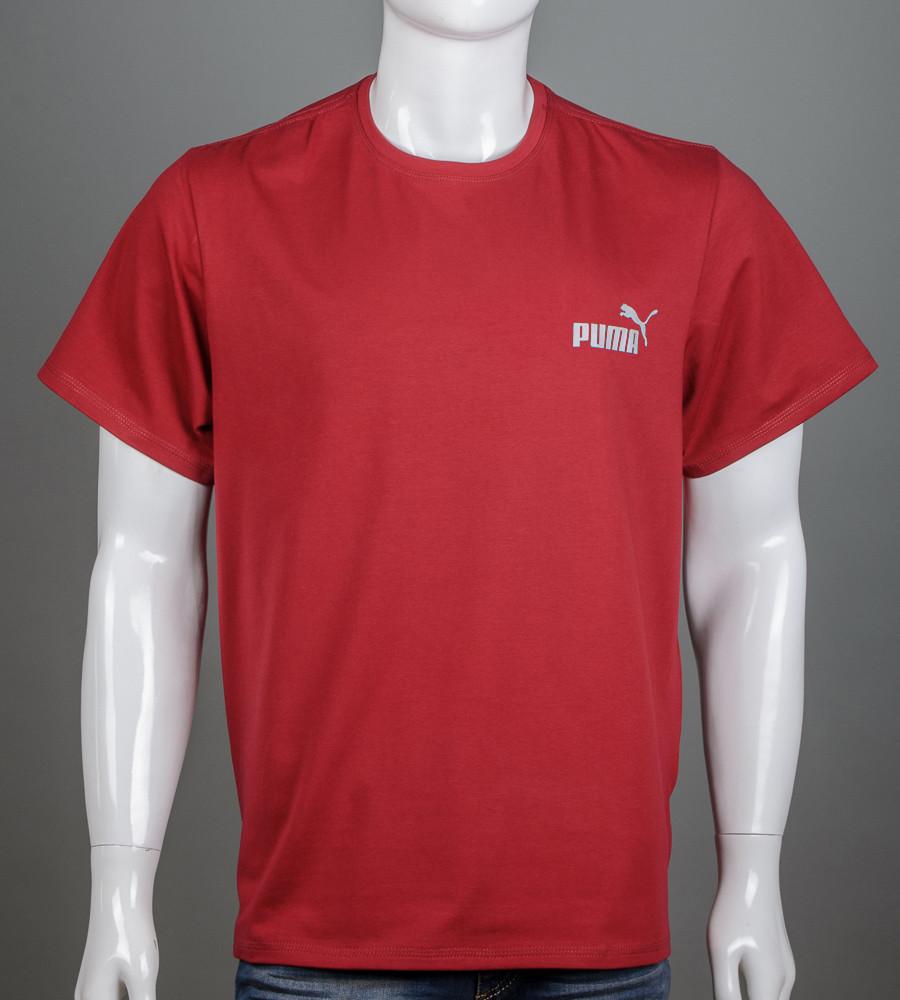 Футболка супер-батал Puma(2108сб), Бордовый