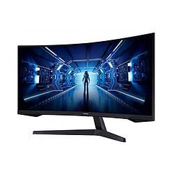 "Монитор Samsung 34"" Odyssey G5 (LC34G55TWWIXCI) VA Black Curved"