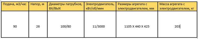 Насос 100/80