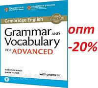 Английский язык / Подготовка к экзамену: Grammar and Vocabulary for Advanced Book / Cambridge