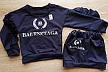 Стильный детский костюм джемпер и юбка BALENCIAGA, фото 4