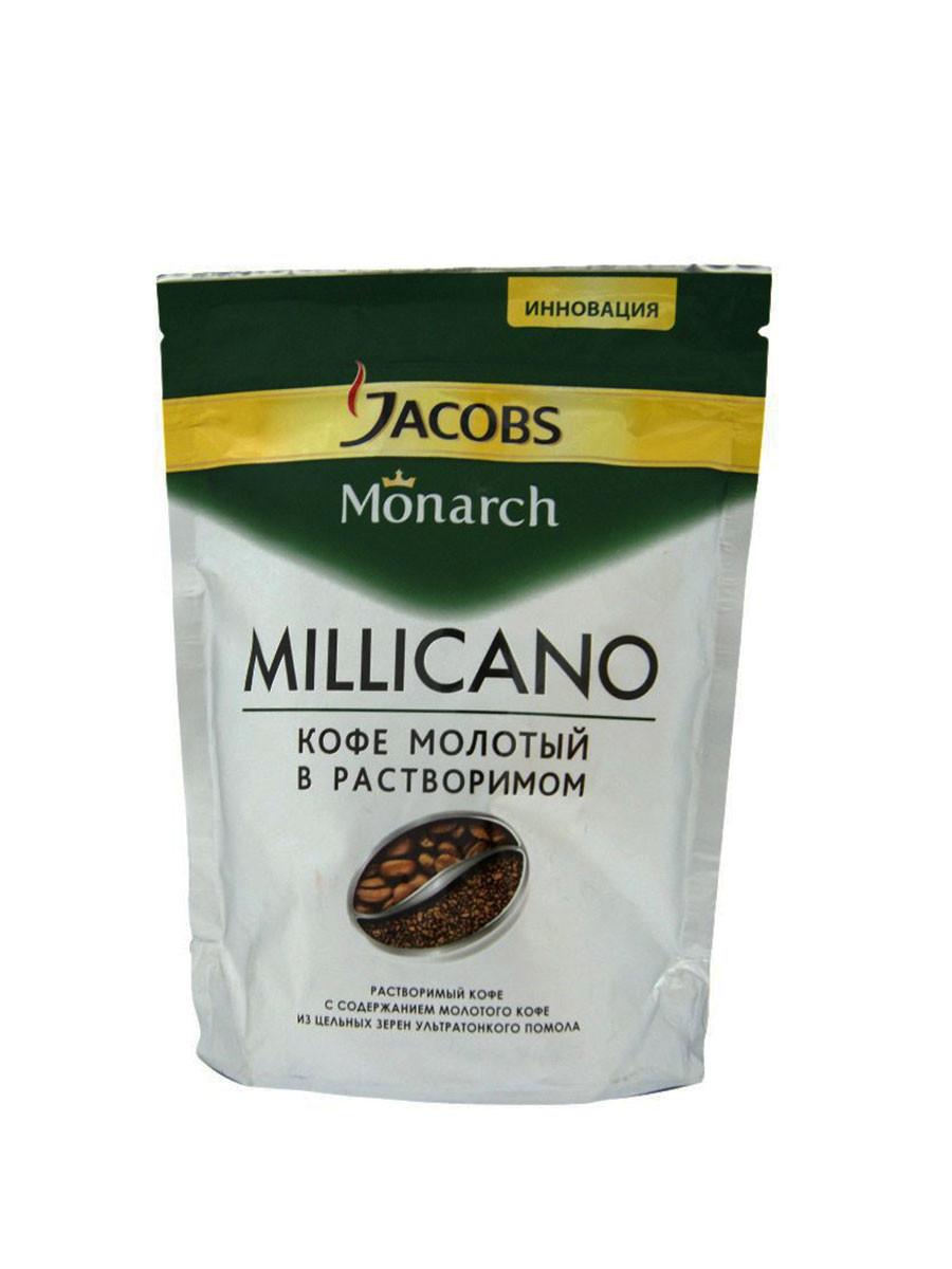 Кофе растворимый Jacobs Monarch Millicano 65 г. м/у