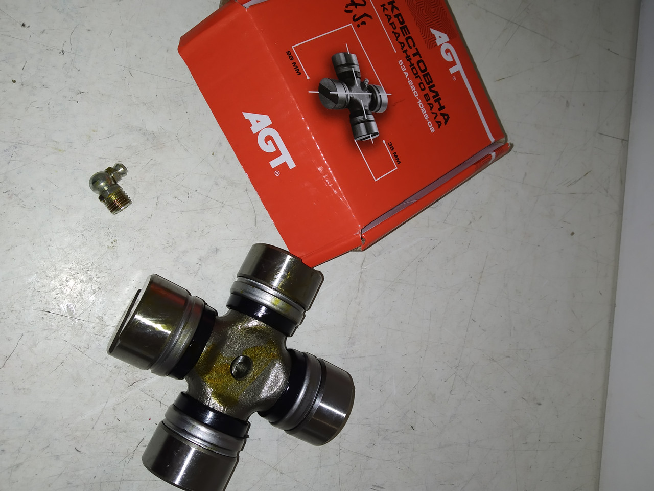 Крестовина карданного вала Газ-53 AGT