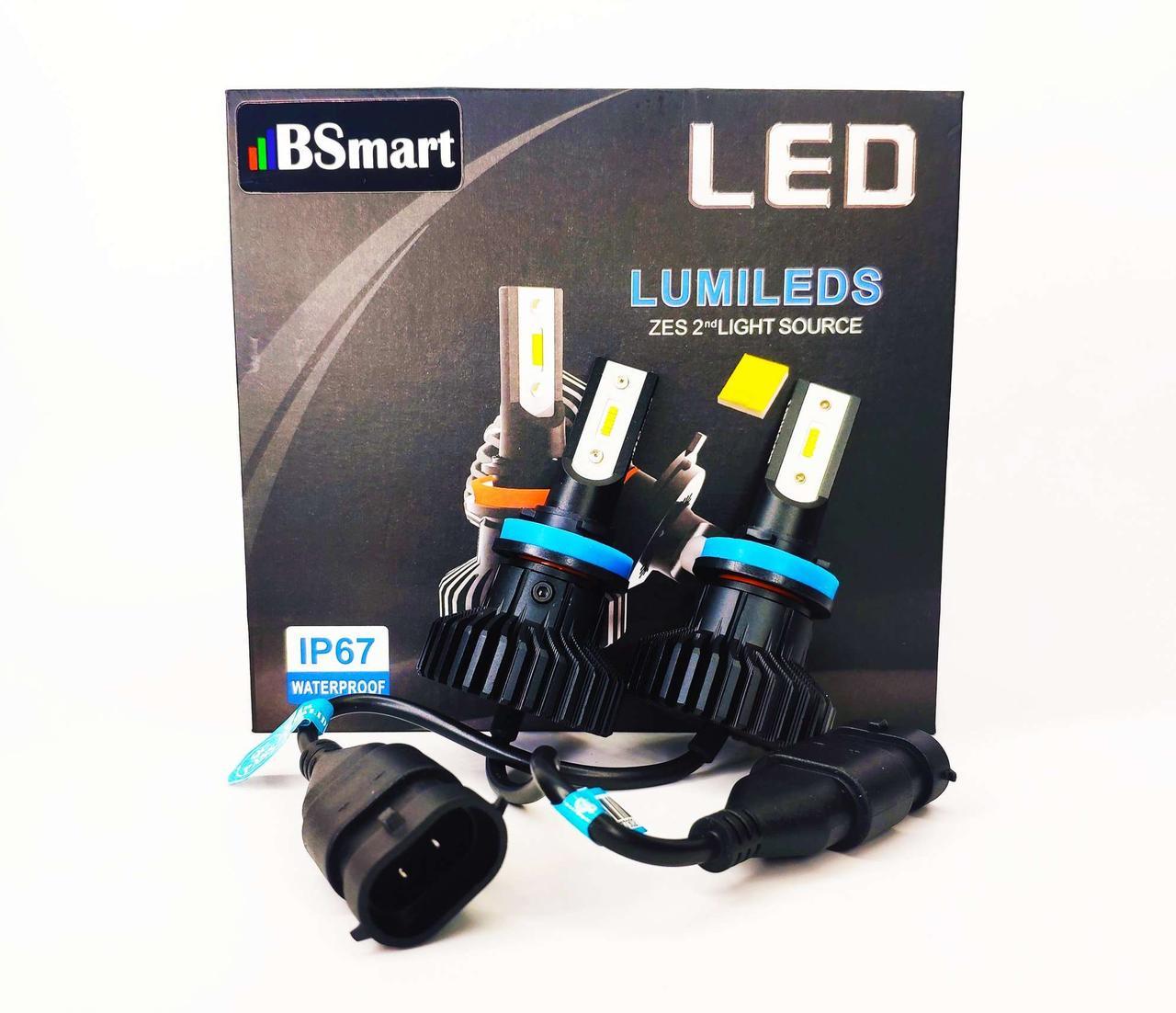 Светодиодные лед авто лампы BSmart Extra 5, H8, 50W, Luxeon Z ES, 9-36V