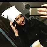 Женская стильная шапка из ангорки (2 цвета), фото 2