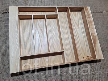 Лоток для столовых приборов L482-575.400 ясень