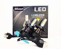 Світлодіодні LED авто лампи BSmart X5 H4 50Вт Luxeon ZES 12-24В