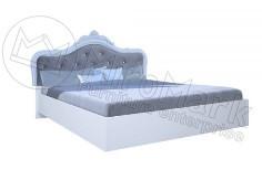 Ліжко Луїза без каркасу Білий глянець ТМ МироМарк