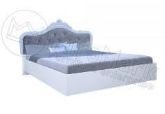 Кровать Луиза без каркаса Белый глянец ТМ МироМарк