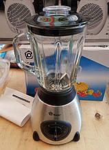 Блендер измельчитель Domotec MS-6609 (чаша стекло) 1000W