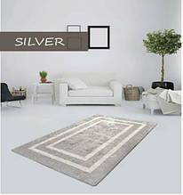 "Бесплатная доставка!Турецкий ковер в спальню ""Silver"" 100х200см."