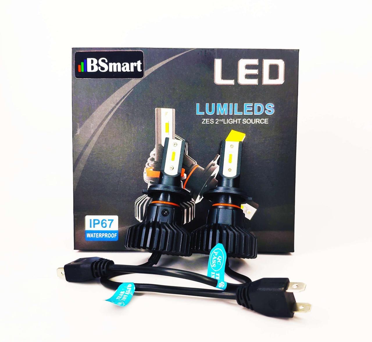Светодиодные лед авто лампы BSmart Extra 5, H7, 50W, Luxeon Z ES, 9-36V