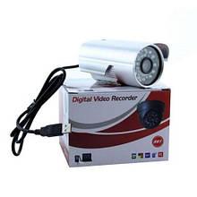 Цветная камера видеонаблюдения CCTV с записью на MicroSd