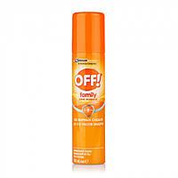 Аэрозоль OFF! против комаров Family 100мл