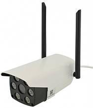 Уличная IP камера видеонаблюдения UKC 1080P 3020 2 mp белая