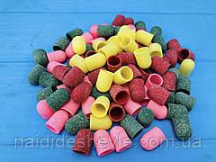 Абразивный колпачок для фрезера, цветные 10*15