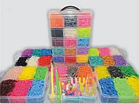 Великий набір резинок для плетіння браслетів 6 ярусів 16000
