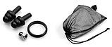 Полнолицевая панорамная маска для плавания RoundTech (S/M/L/XL) с креплением для камеры, фото 5