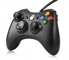 Проводной геймпад Microsoft Xbox 360 black (не работает кнопка RB)