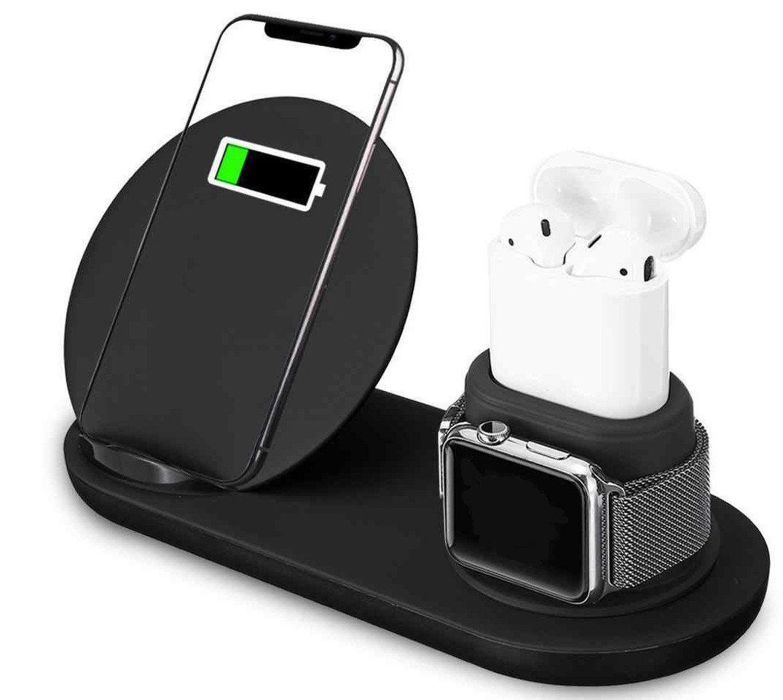 Док станция 3 в 1 для Apple Watch iPhone AirPods