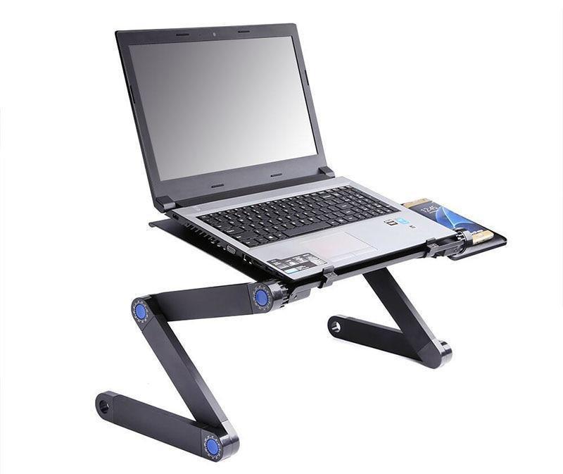 Столик для ноутбука с охлаждением Laptop Table T8 трансформер