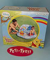 """Детский надувной бассейн Intex """"Винни Пух"""" с навесом 58415"""