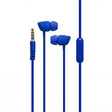 Наушники вакуумные проводные Karler KR-605 Синие