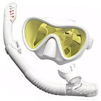 Набор для снорклинга (маска + трубка) Белый