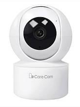 Беспроводная поворотная комнатная IP камера WiFi microSD CareCam 23ST 2 Мп