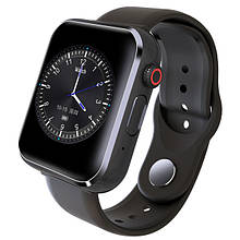 Умные часы Smart Watch Z6 с фитнес трекером Black