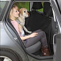 Автомобильная подстилка для собак на заднее сиденье Trixie