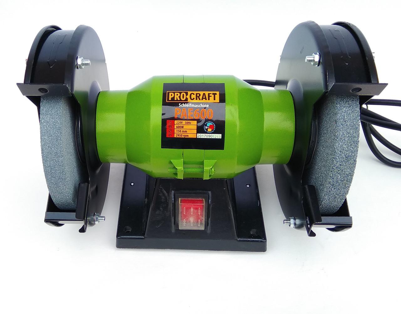 Точило электрическое ProCraft PAE 150/600