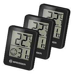 Термометр-гигрометр Bresser Temeo Hygro Indicator (3шт) Black (7000010CM3000)