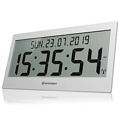 Часы настенные Bresser Jumbo LCD Grey (7001802QT5000)