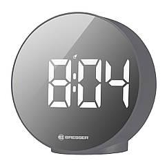 Часы настольные Bresser MyTime Echo FXR Grey (8010071QT5WHI)