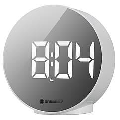 Часы настольные Bresser MyTime Echo FXR White (8010071GYEWHI)