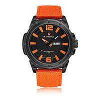 Годинники наручні кварцові Naviforce 9066 помаранчеві