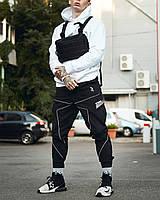 Мужские брюки-карго Пушка Огонь Xeed XXL модные молодежные черные штаны cargo весна подростковые брюки карго, фото 1