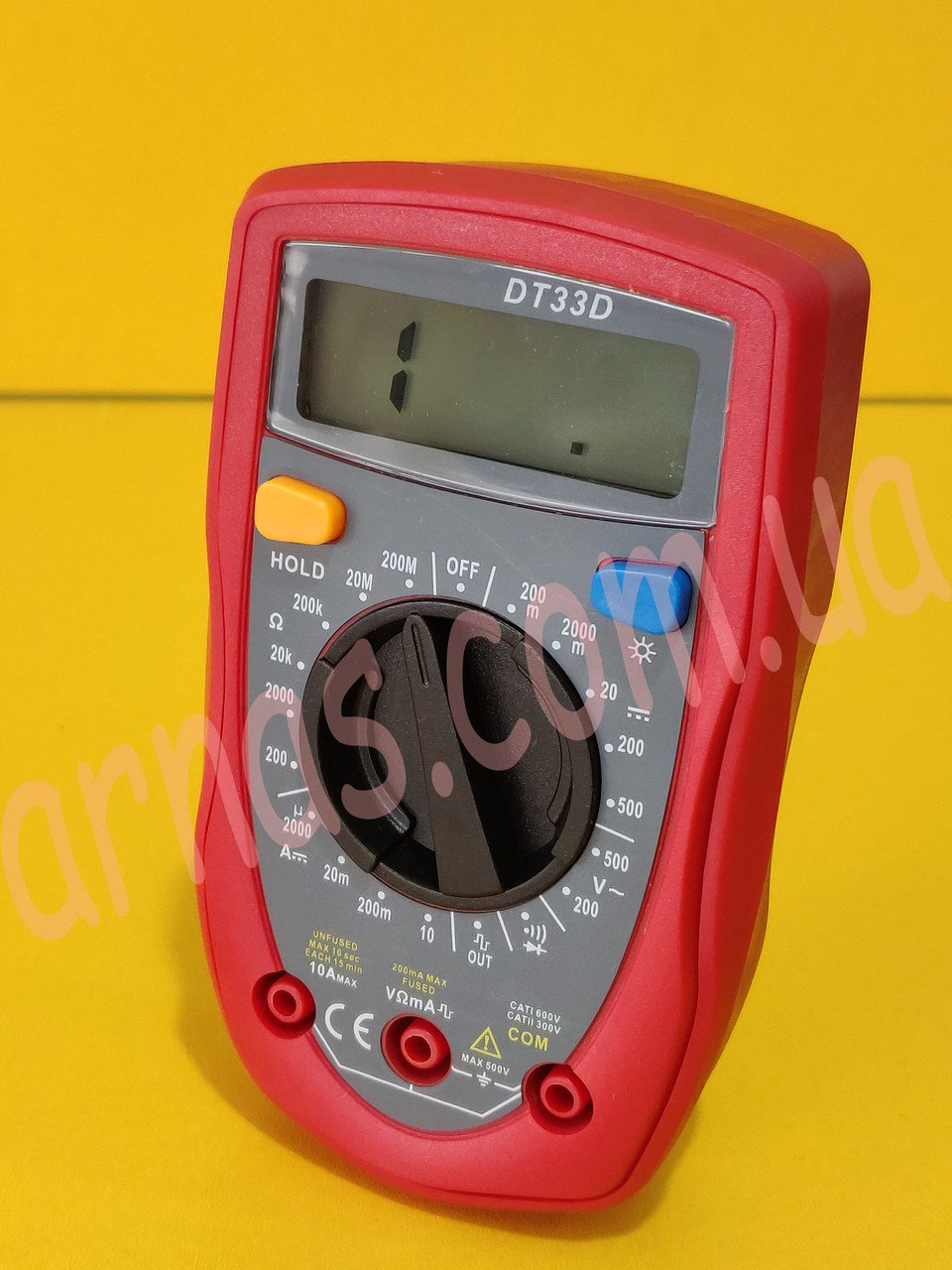 Мультиметр (тестер) DT33D цифровой