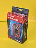 Мультиметр (тестер) DT33D цифровой, фото 3
