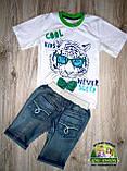 Шорты джинсовые для мальчика размер 115-125, фото 4
