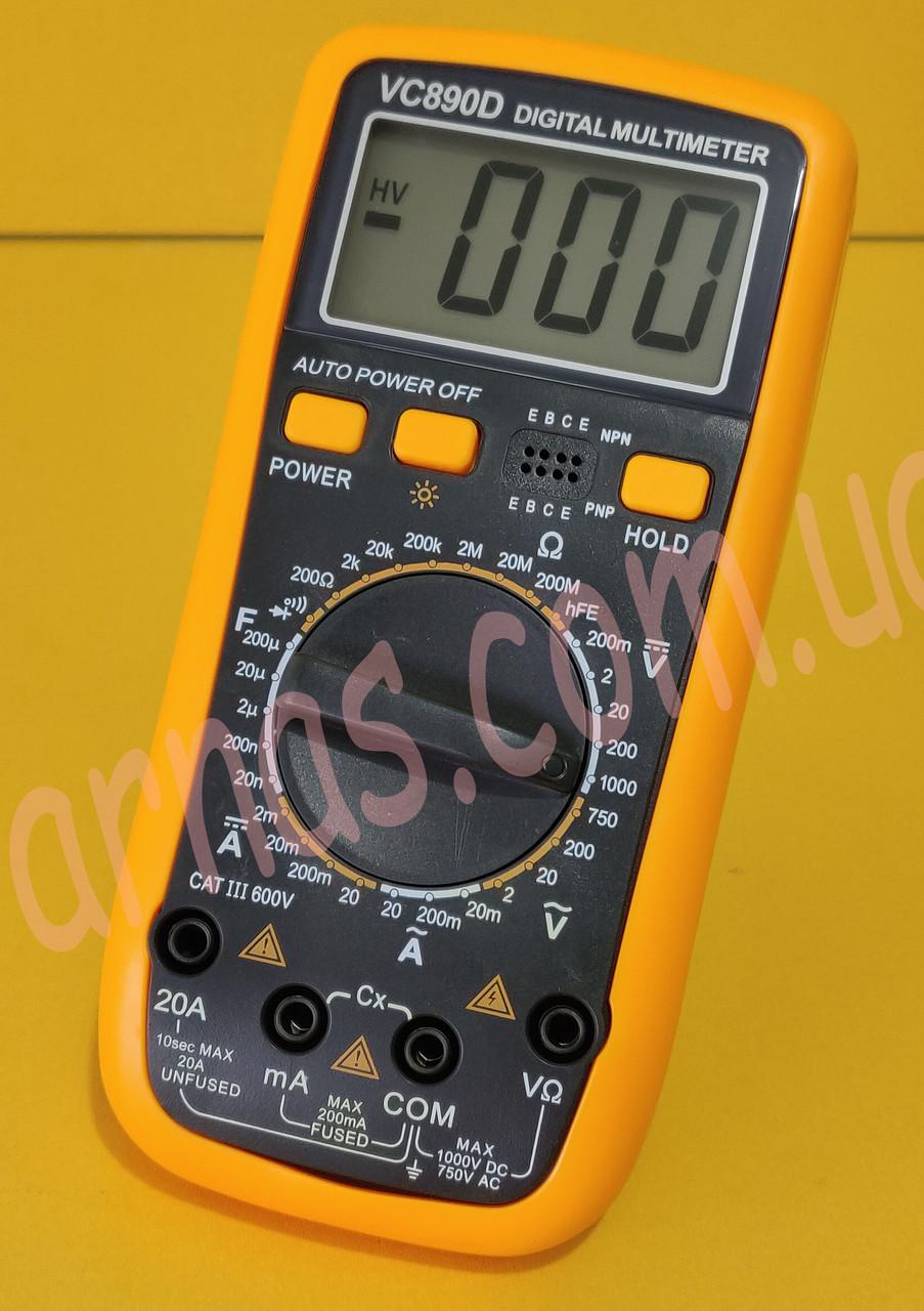 Мультиметр (тестер) VC890D цифровий