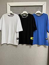 Яркие трендовые футболки для мальчиков 140-164 см
