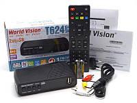 Комбинированная цифровая приставка Т2 World Vision Т624D2