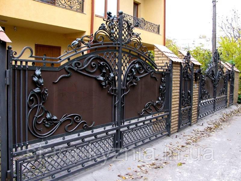 Картинки по запросу кованые ворота