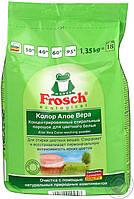 Стиральный порошок Frosch Aloe Vera Color для цветных тканей 1,35 кг