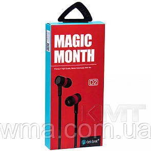 Celebrat D2 Hands Free With Mic — Red
